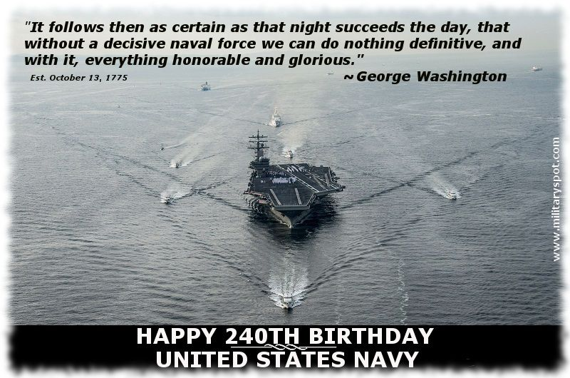 Military Photos And Videos Navy 240th Birthday Us Navy Birthday Navy Retired Military Holidays