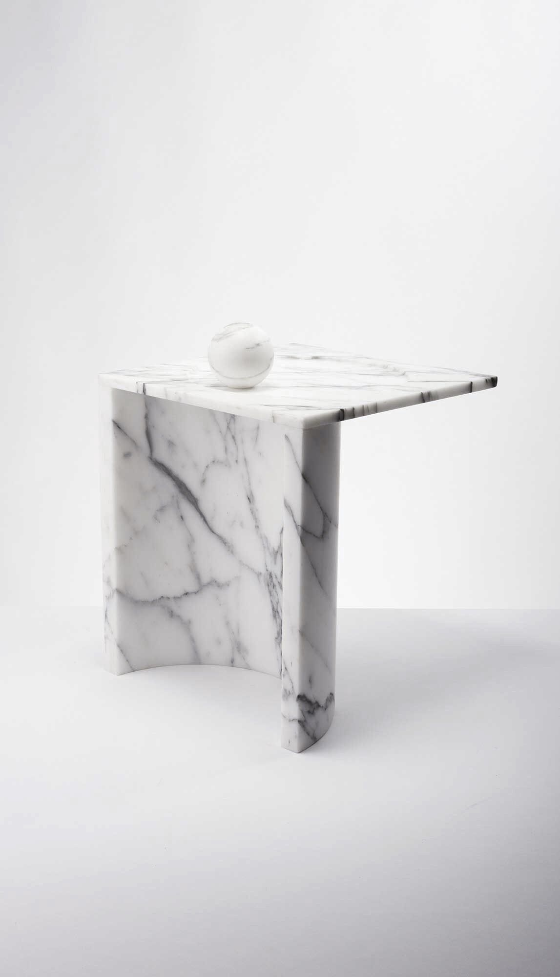 Thevoz Choquet For Bloc Studios Marble Furniture Furniture Side Tables Furniture