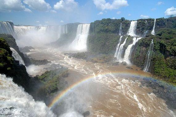 Pictures of Amazing Iguazu Falls