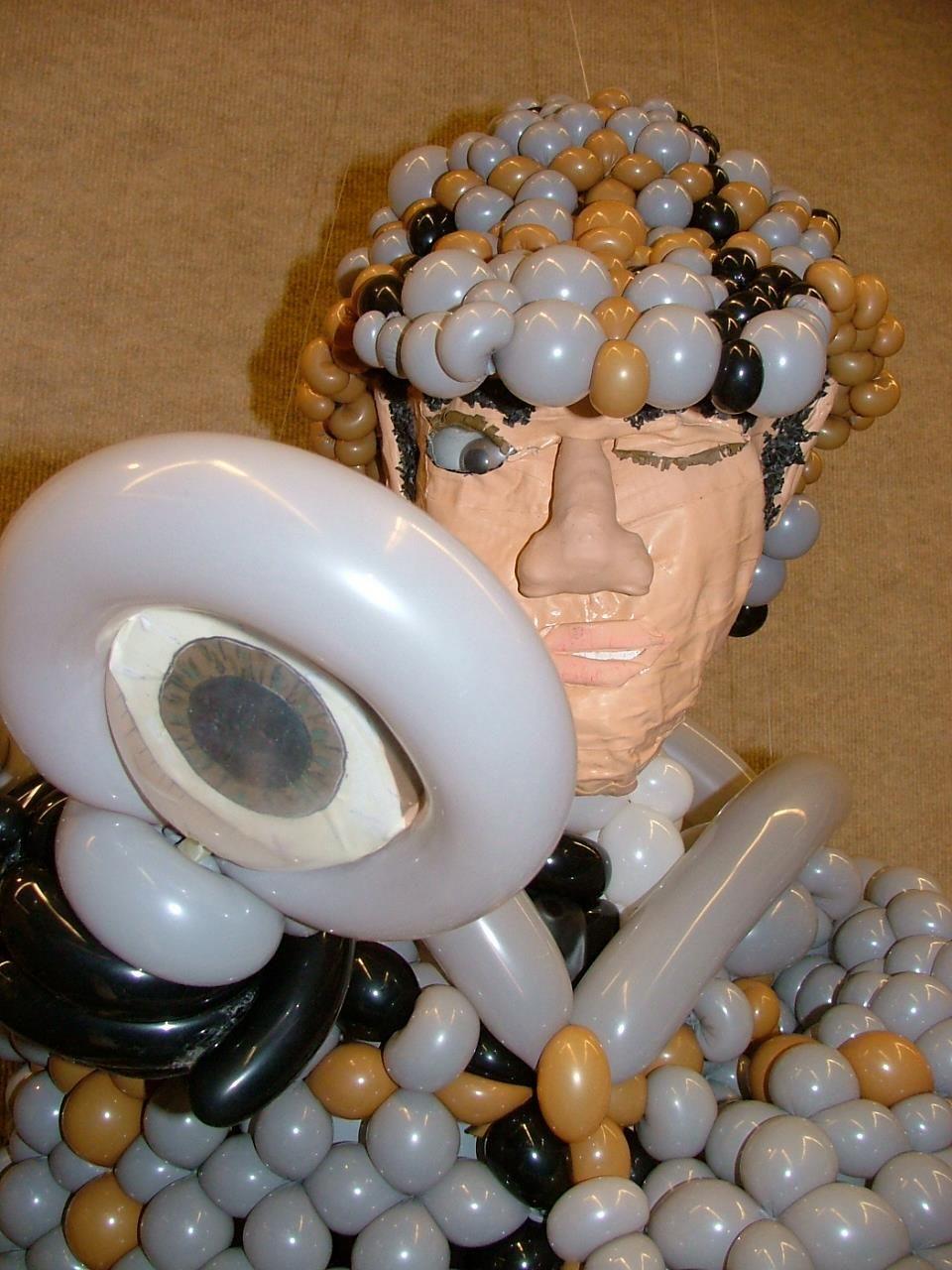 Balloon Sherlock Holmes By Las Vegas Artist Jeremy Johnston Atomicballoons