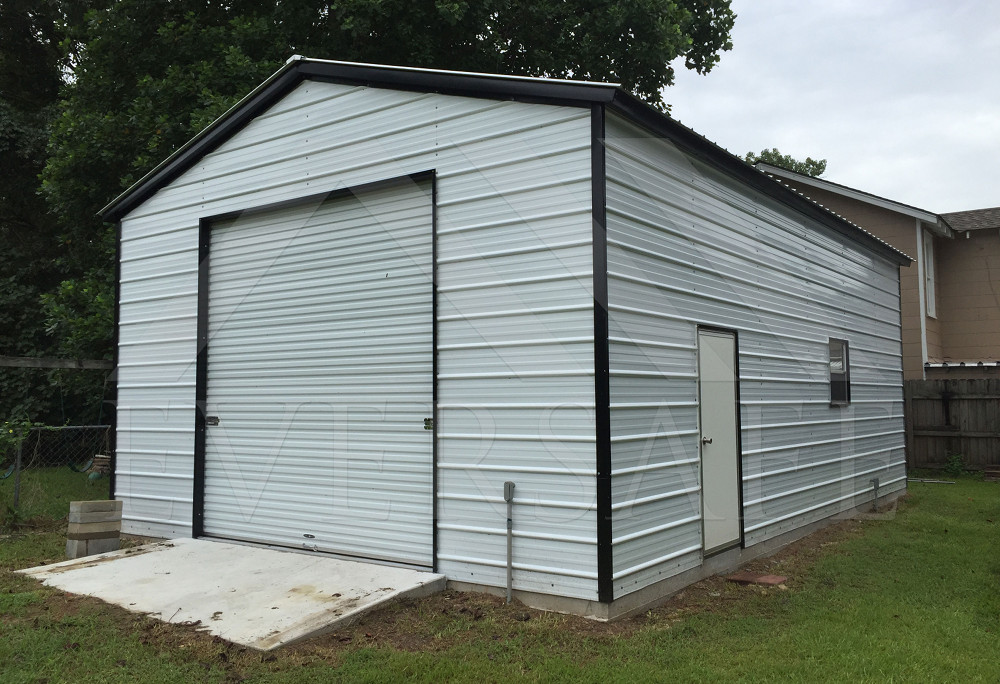 California Steel Garages, Factory Prices On Garage Metal