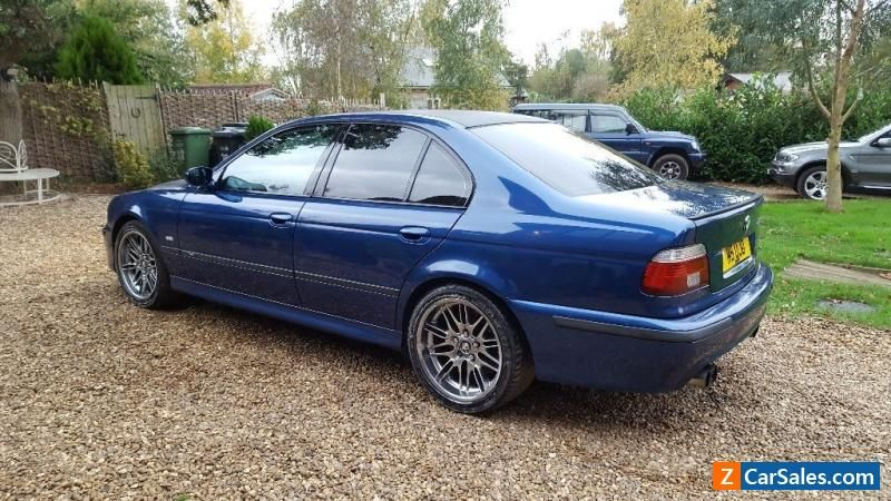 Car For Sale 2000 Bmw E39 M5 In Avus Blue Must Be Seen Bmw
