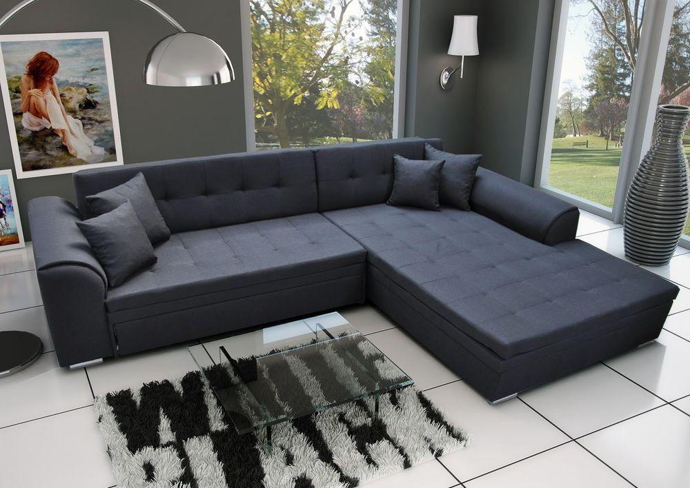 Details Zu Couch Garnitur Ecksofa Sofagarnitur Sorento