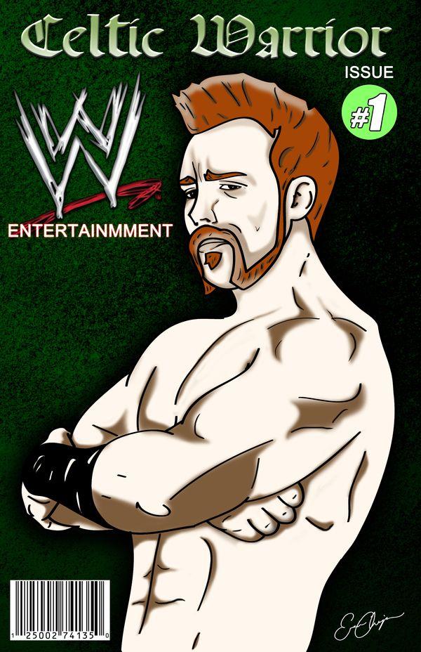 WWE Sheamus Comic Book Cover by Eric Champion, via Behance | Sheamus ...