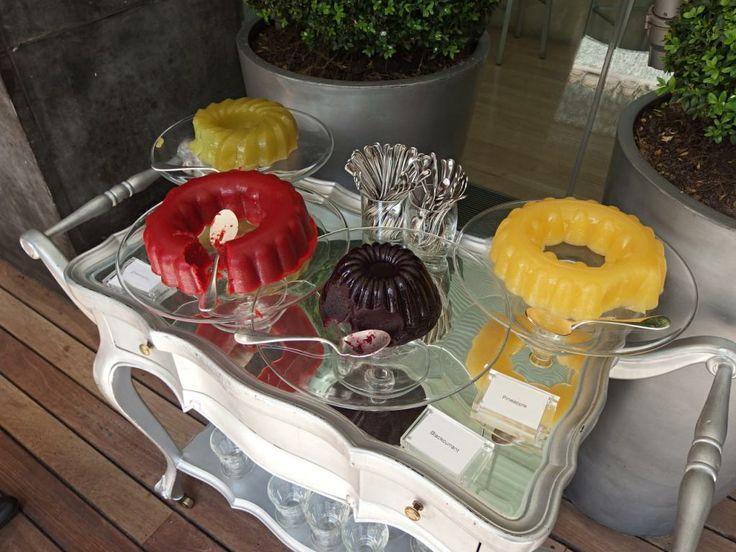 Jelly Wonderland  Mad Hatters Tea  Das Sanderson Hotel auf  Jelly Wonderland  Mad Hatters Tea  Das Sanderson Hotel auf