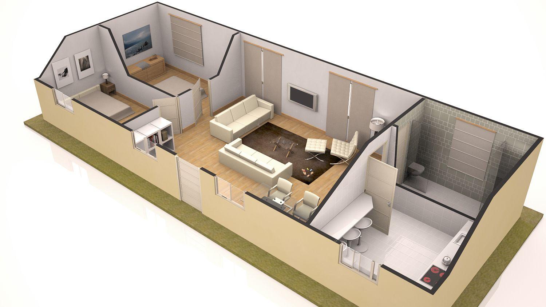 Casa en hormig 1500 844 ideas para la casa for Casas prefabricadas economicas