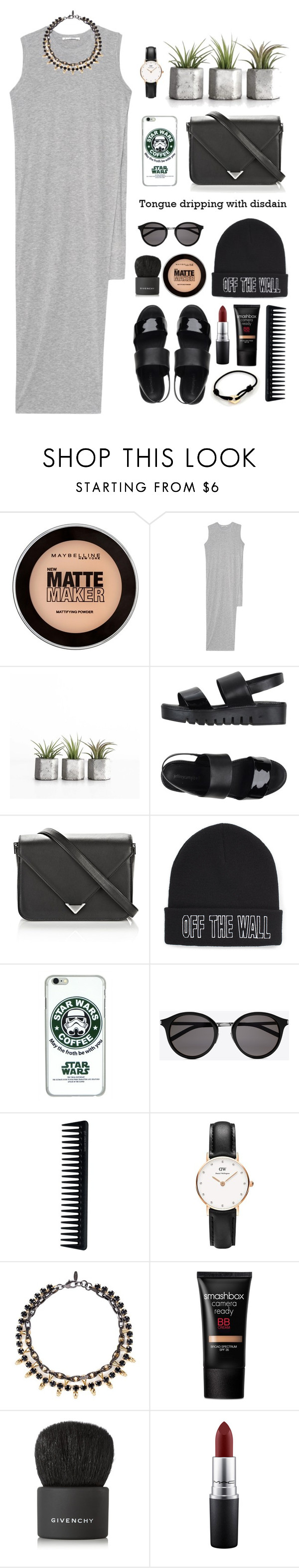 """""""So Cool, Just Gotta Wear Shades"""" by foreveryoungid ❤ liked on Polyvore featuring Maybelline, Acne Studios, Jeffrey Campbell, Alexander Wang, Vans, Yves Saint Laurent, GHD, Daniel Wellington, Joomi Lim and Smashbox"""