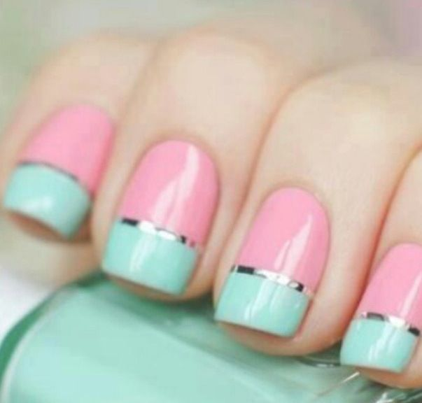 Pink and mint green | polished | Pinterest | Mint green, Pastel ...