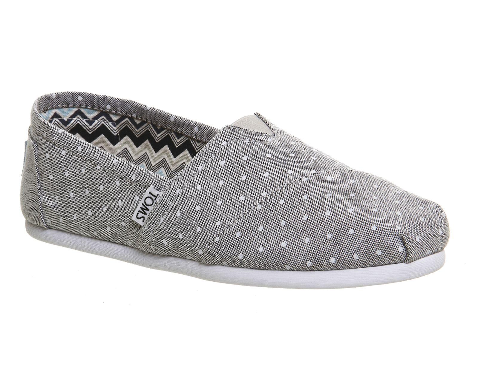 Buy Black Crochet Toms Seasonal Classic Slip On Womens Shoes