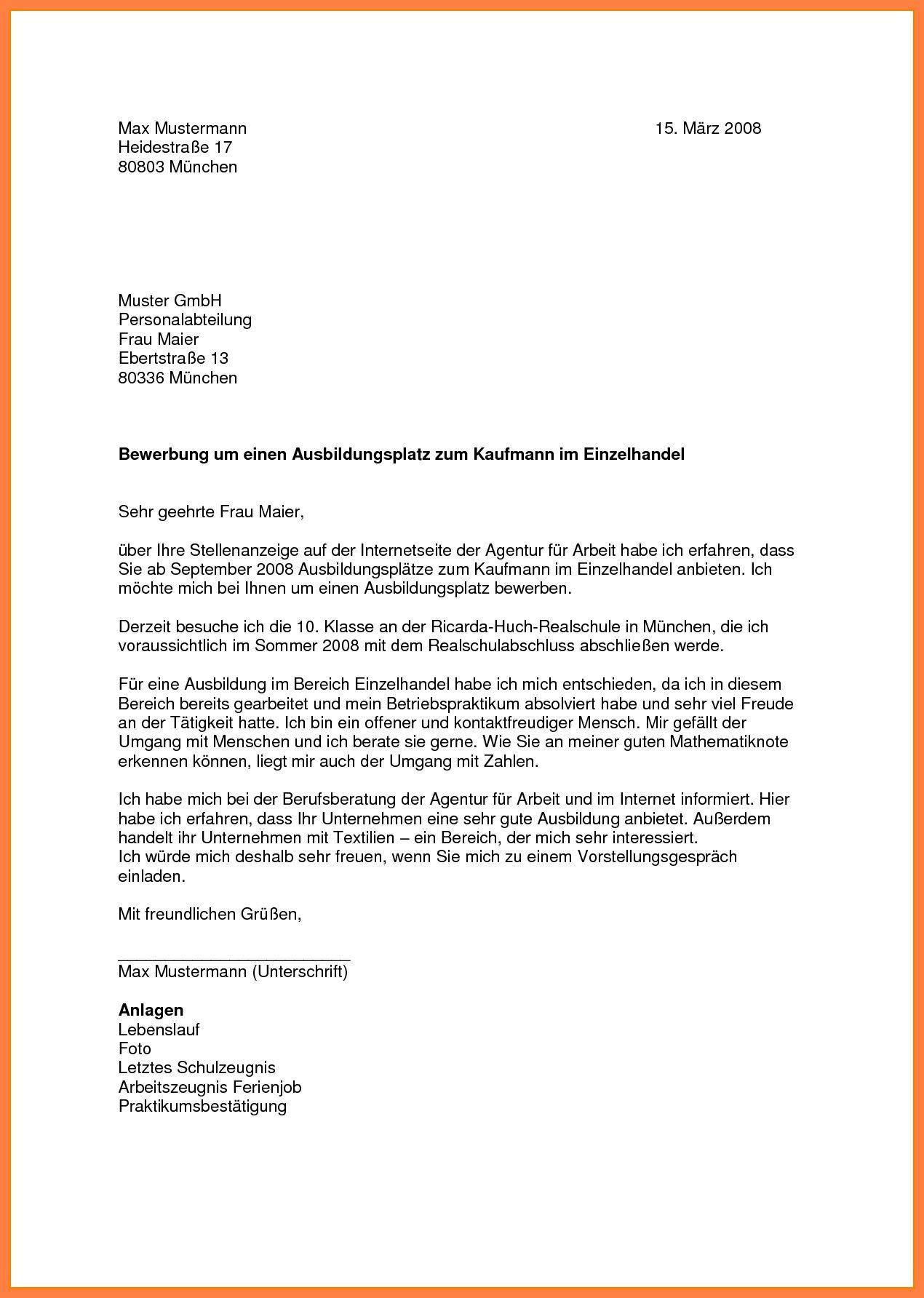 Einzigartig Bewerbung Dachdecker Briefprobe Briefformat Briefvorlage Bewerbung Bewerbung Muster Briefvorlagen