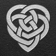 Celtic Symbol for Motherhood ~ I live this! A symbol that says more than words could. A heart entwined with forms both independent and fluid, while so entangled in the heart they stay close. Given the freedom to burst the confines, but always drawn back to home.