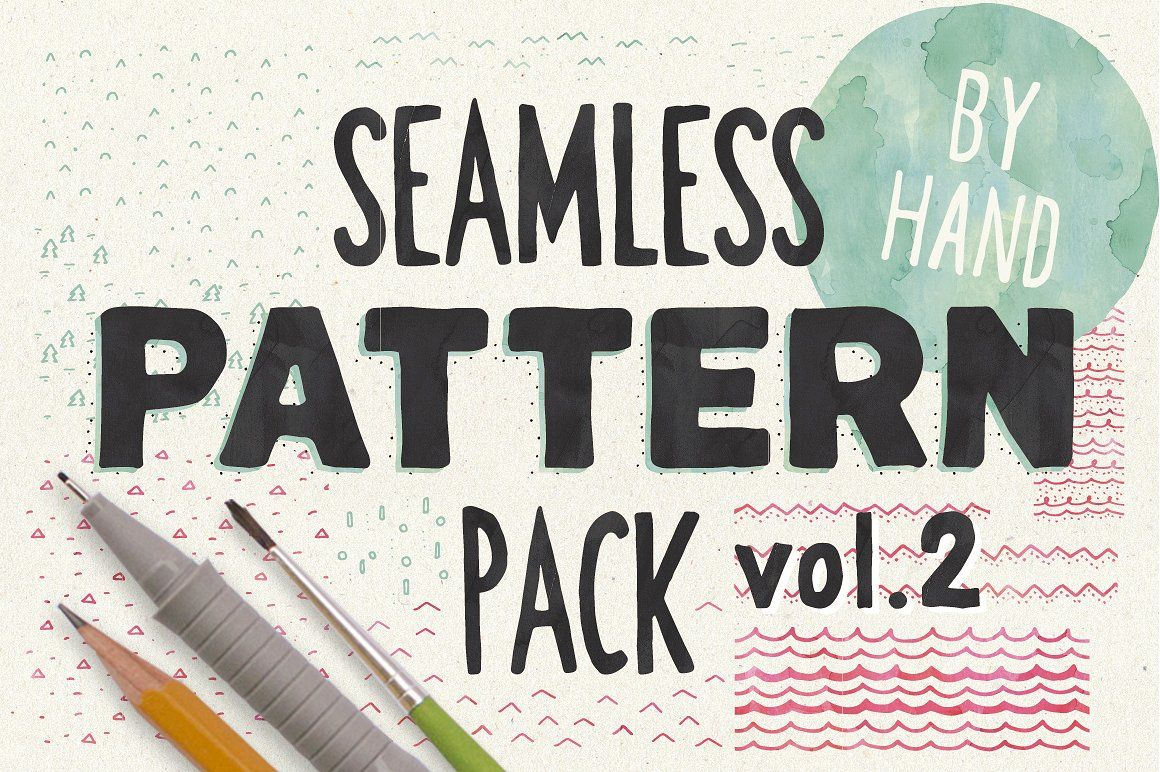 HandSketched Seampless Patterns II. - Patterns