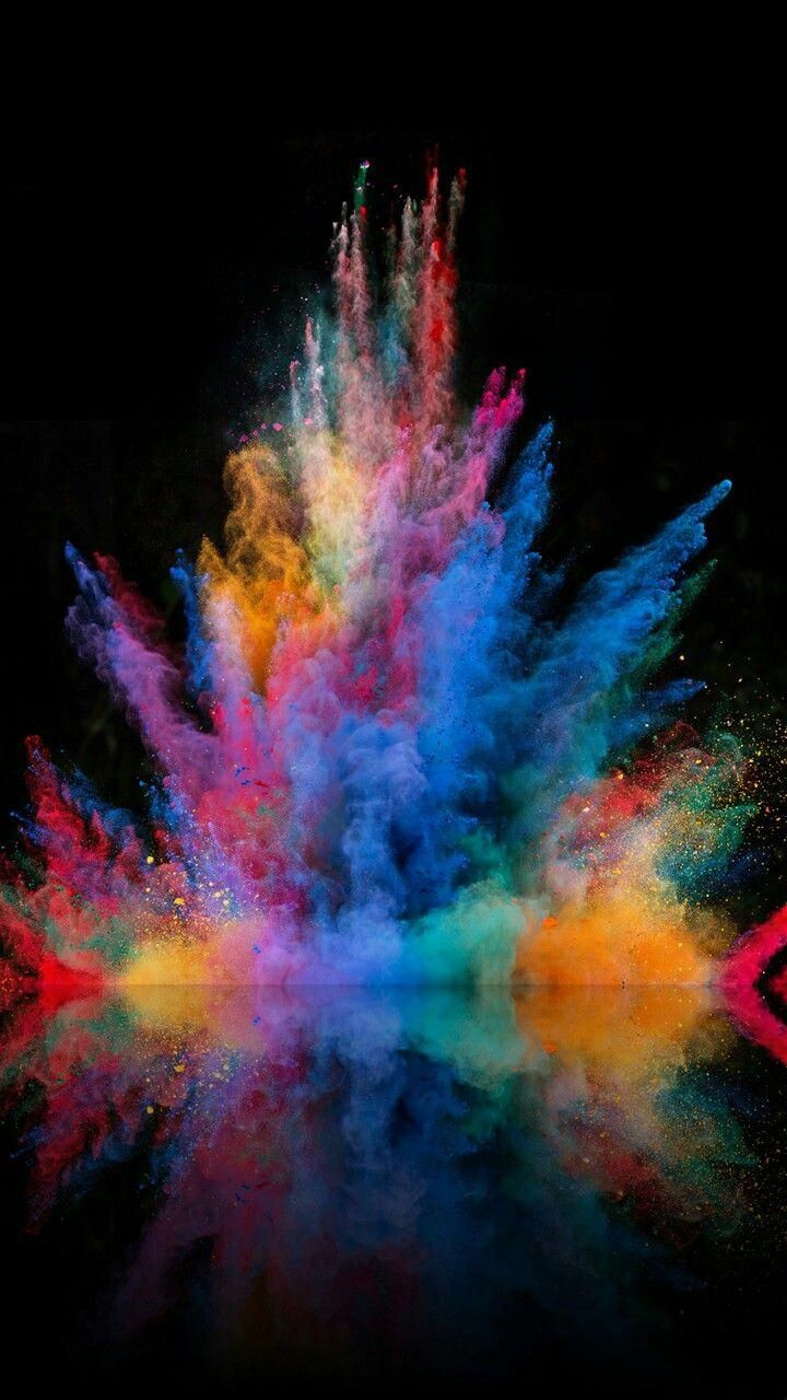 Download Colorful Splash Wallpaper By Sarchotic