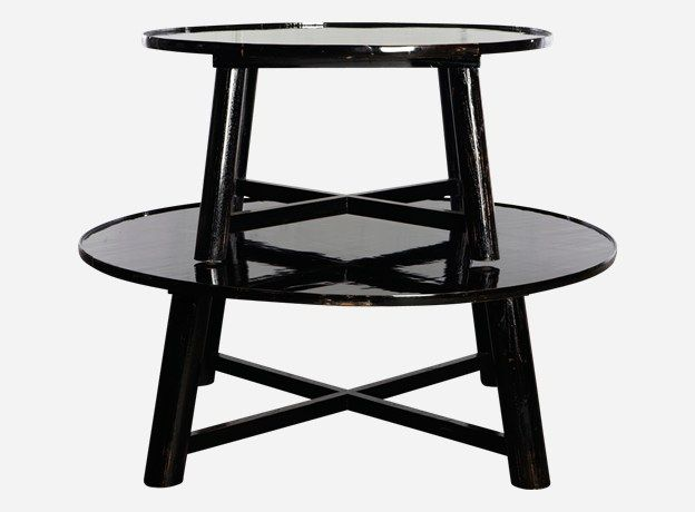 For Our Patio Coffee Table Asian Style Black Cf0111b