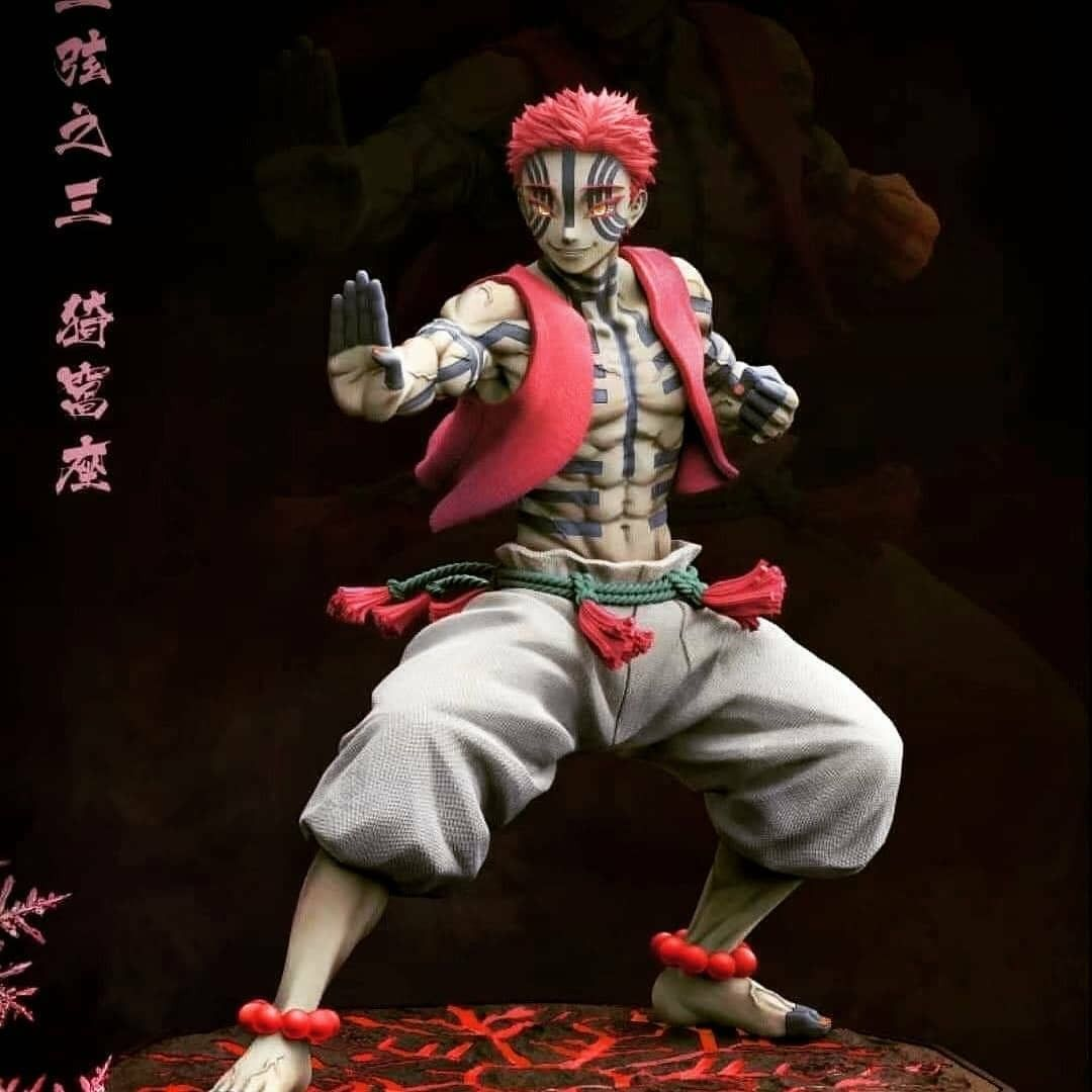 Pin By Yuffi On Statues In 2021 Anime Figures Anime Figurines Slayer Anime