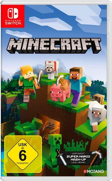 Minecraft Nintendo Switch Edition Nintendo Switch With Images Nintendo Switch Games Nintendo Switch