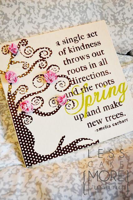 Spring canvas
