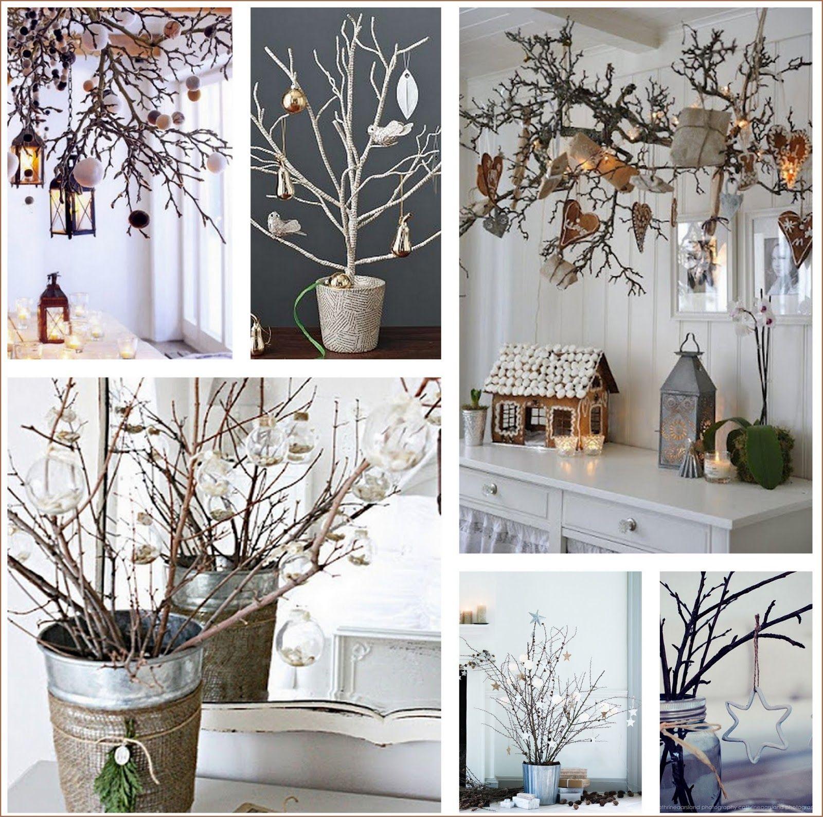 Resultado de imagen para ramas secas decoradas - Ramas decoradas ...