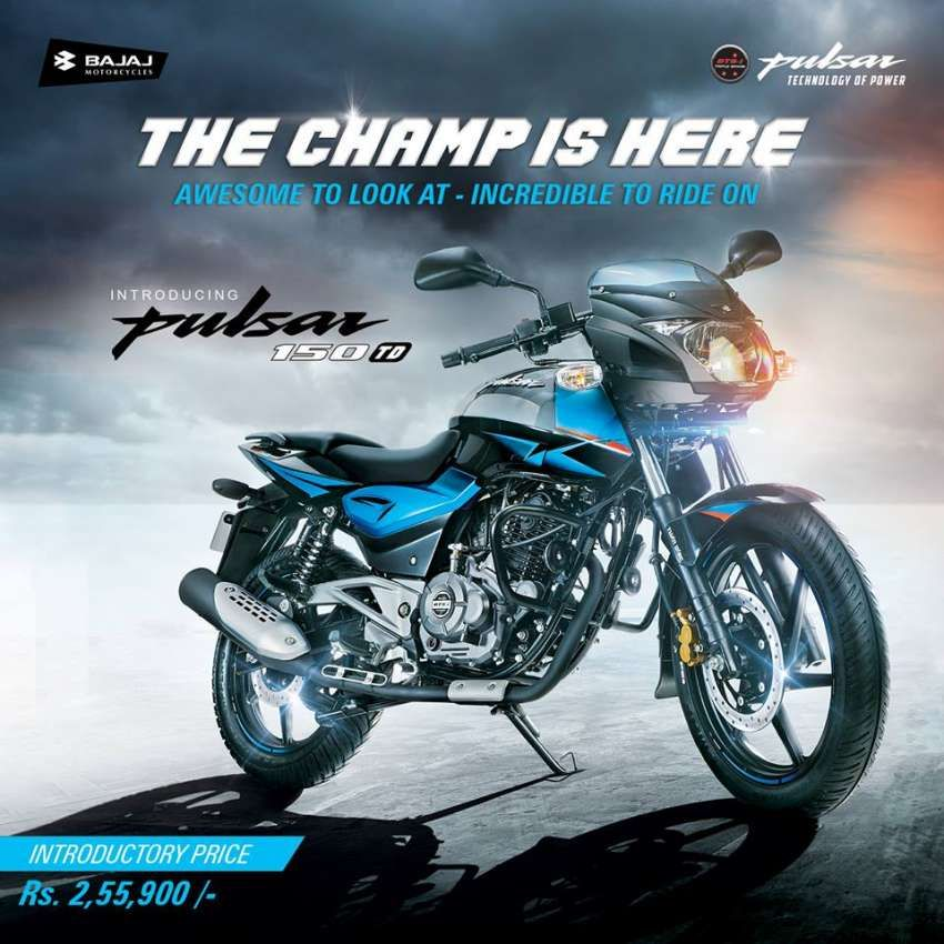 All New Pulsar 150 Td Launched In Nepal Product Launch Pulsar