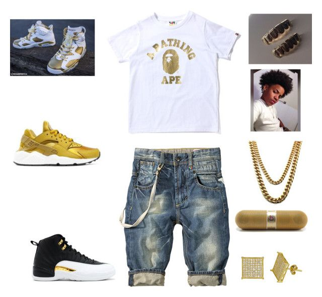 """""""a boogie outfit"""" by aleisharodriguez ❤ liked on Polyvore featuring NIKE and Beats by Dr. Dre"""