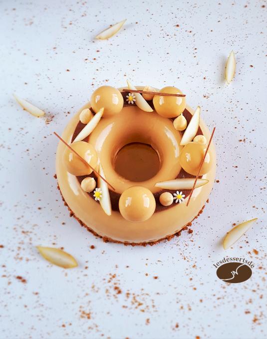 Entremet Poire Speculoos Les Desserts De Jn 甜點