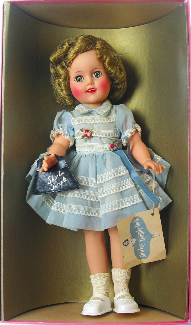 Shirley Temple Doll By Ideal 1950s My Grandmother Gave Me This Doll I Never Took Her Out Of The Box She Burned I Vintage Dolls Tiny Tears Doll Shirley Temple