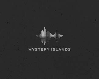 Mystery Islands By Cresk Music Logo Design Sound Logo Branding Design Logo