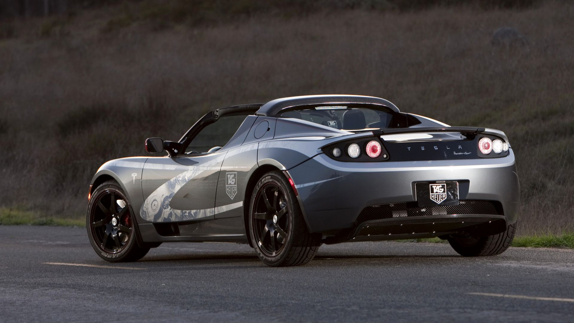 Tesla Roadster Sport TAG Heuer Wallpapers and HD Images