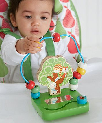 high chair suction toys portable beach lounge canada pads fix this colourful toy to your little one s highchair keep them entertained