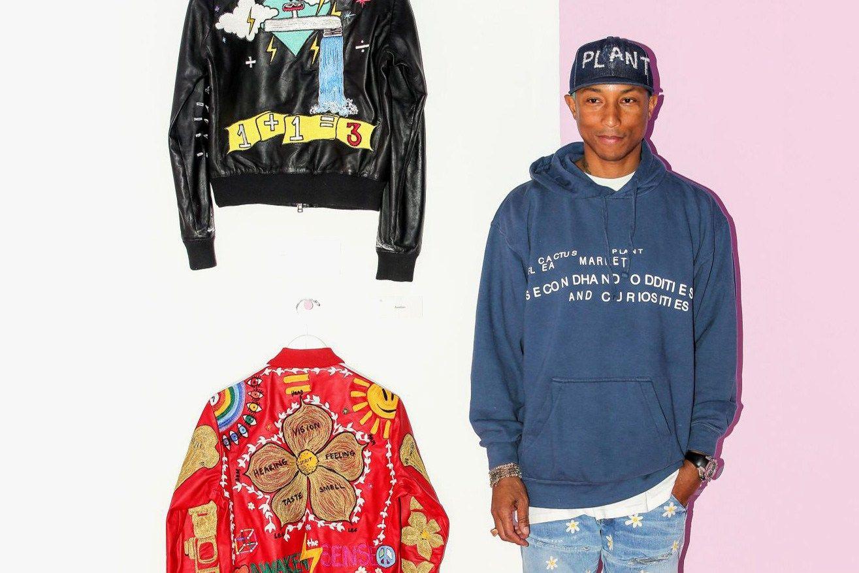 Pharrell Williams Collaborates With Adidas Originals