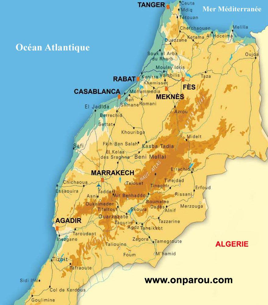 carte du maroc à imprimer Résultat de recherche d'images pour