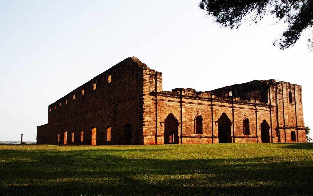 Fondos Blackberry Wallpapers Paraguay Ruinas Trinidad