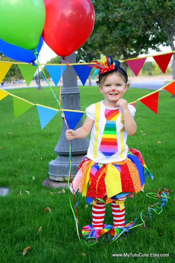 Rainbow Clown Tutu Costume including Fabric Scraps by mytutucute $57.99  sc 1 st  Pinterest & Rainbow Clown Tutu Costume including Fabric Scraps by mytutucute ...