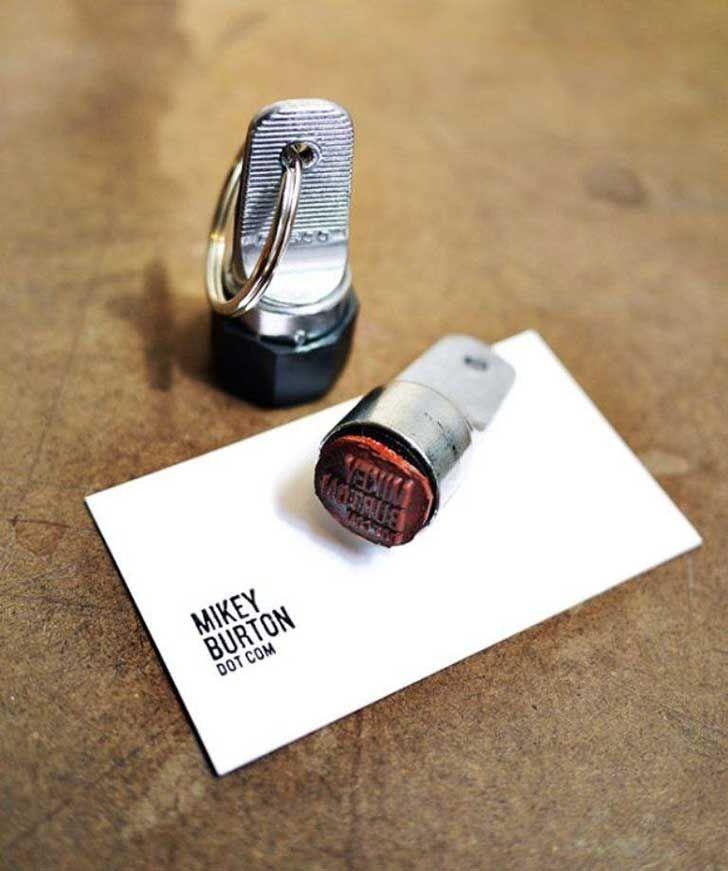 20 tarjetas de presentación poco convencionales que no podrían ser - tarjetas creativas