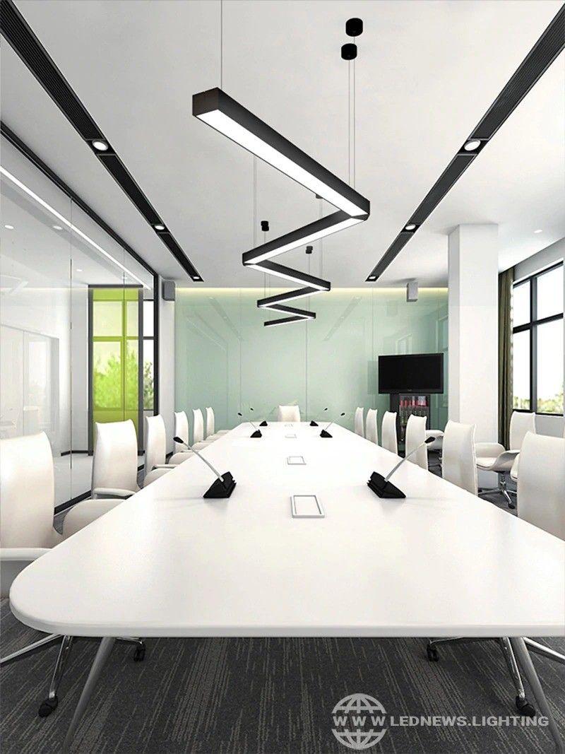 office chandelier led office lighting