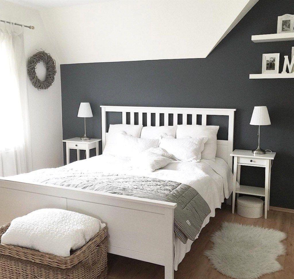 schlafzimmer gestalten weiss grau | schlafzimmer neu