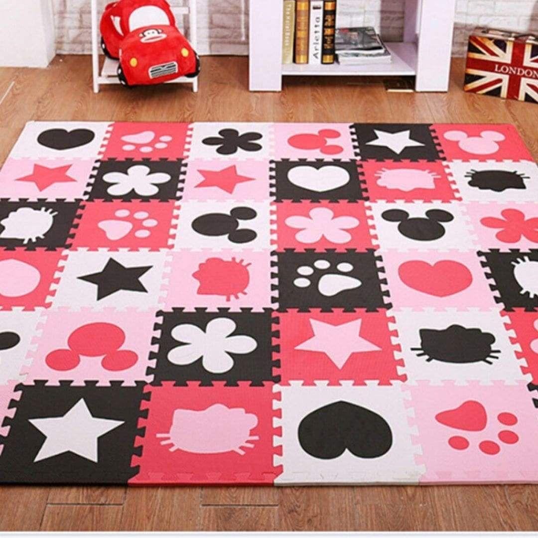 epingle sur tapis de jeu enfant