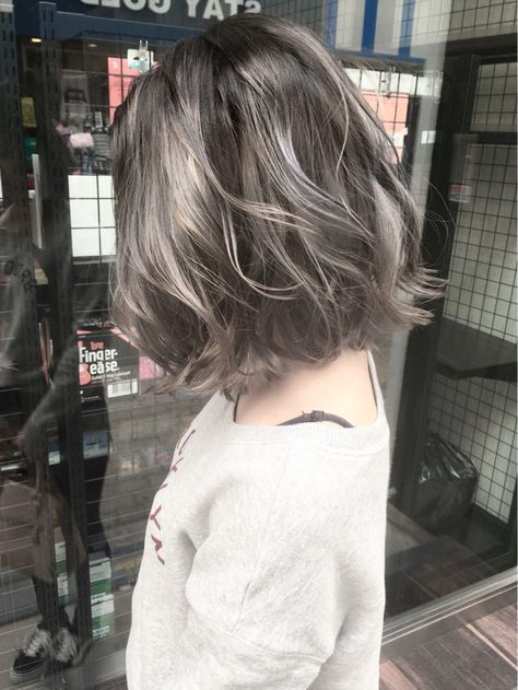 ウェーブ アッシュ ストリート ボブ×Liv×伊藤 裕仁 【 Liv 】×336513【HAIR】