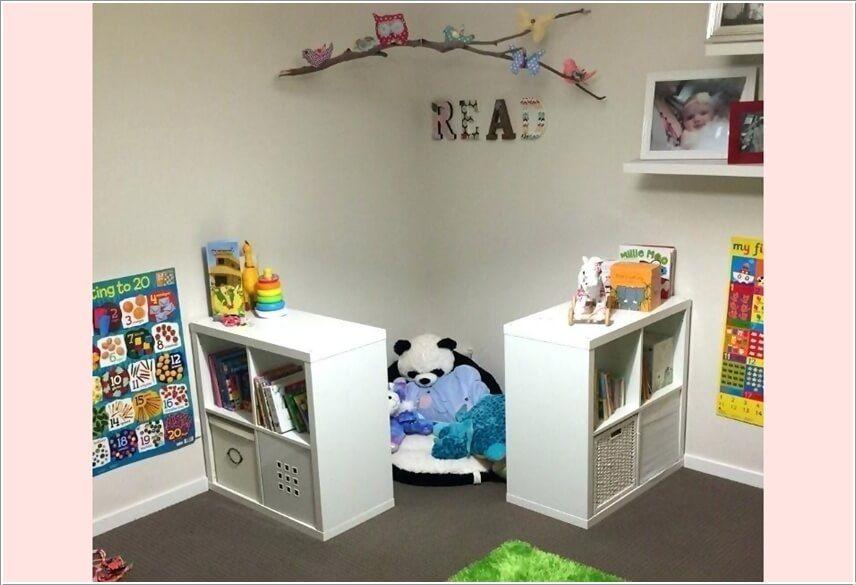 Ideen zum Hinzufügen eines Lese-Winkels zu einem Kinderzimmer #kidsrooms