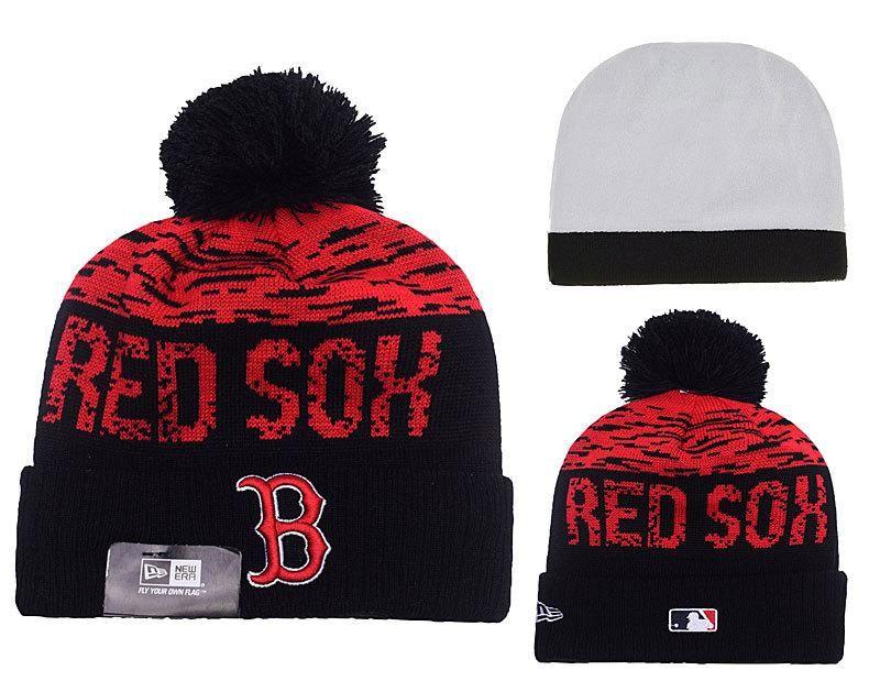 8f294ff5c Men's / Women's Boston Red Sox New Era MLB On-Field Sports Knit Pom ...