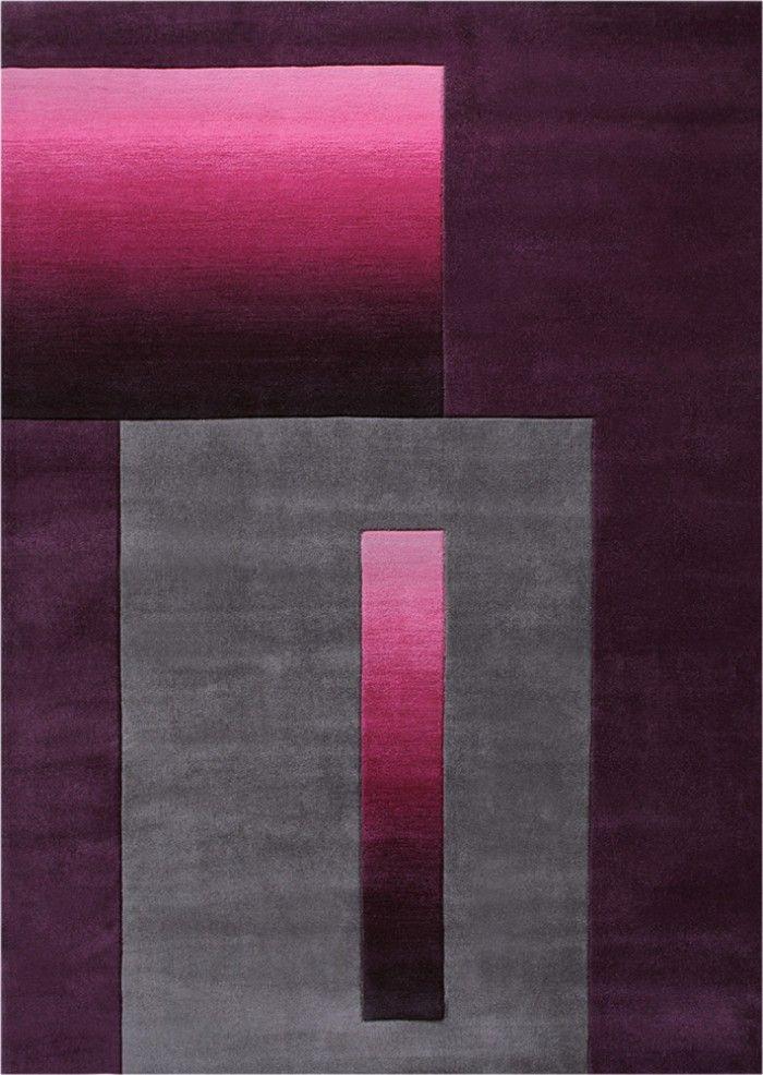 teppich esprit sensed opulence lila moderne kurzflor teppiche modern moderne teppiche. Black Bedroom Furniture Sets. Home Design Ideas