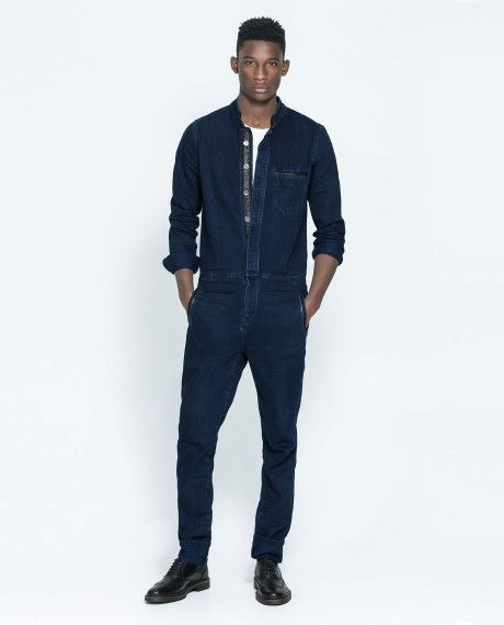 55d0af708ed4 Jeans 2014 · Mens Fashion · Fashion Outfits · Denim Jumpsuit