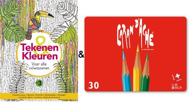 Tekenen & Kleuren 3, 2 & 1   PlusOnline