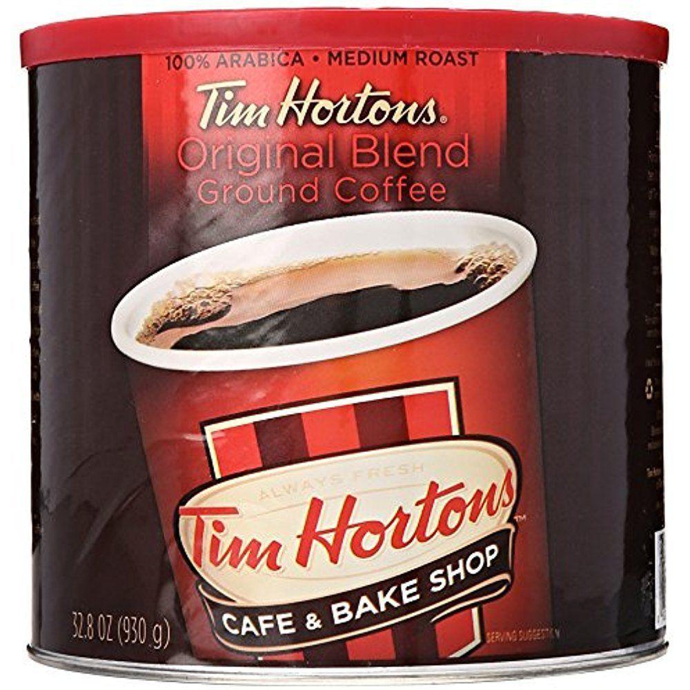 Tim Hortons Blend Ground Coffee 100 Arabica Medium Roast