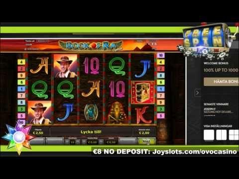 Trying OVO Casino with 8 slots of vegas no deposit bonus