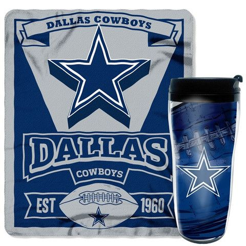 Use this Exclusive coupon code: PINFIVE to receive an additional 5% off the Dallas Cowboys NFL Mug N' Snug Gift Set at SportsFansPlus.com