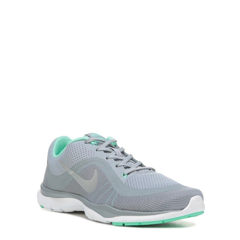 0235f479436f Nike Women s Flex Trainer 6 Training Shoes (Grey Mint) - 10.0 M