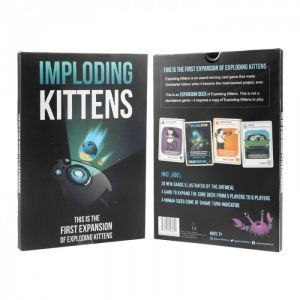 Wholesale Imploding Kittens The First Expansion Of Exploding Kittens Cards Game Set Card Game Card Games Game Sales