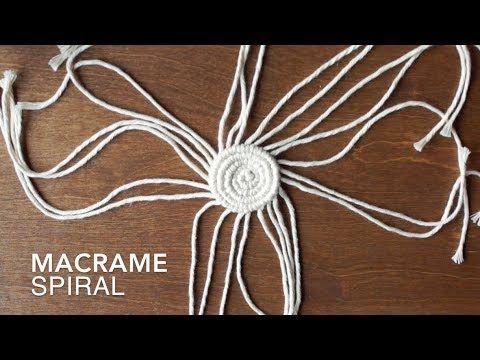 DIY Macrame: Spiral Tutorial!