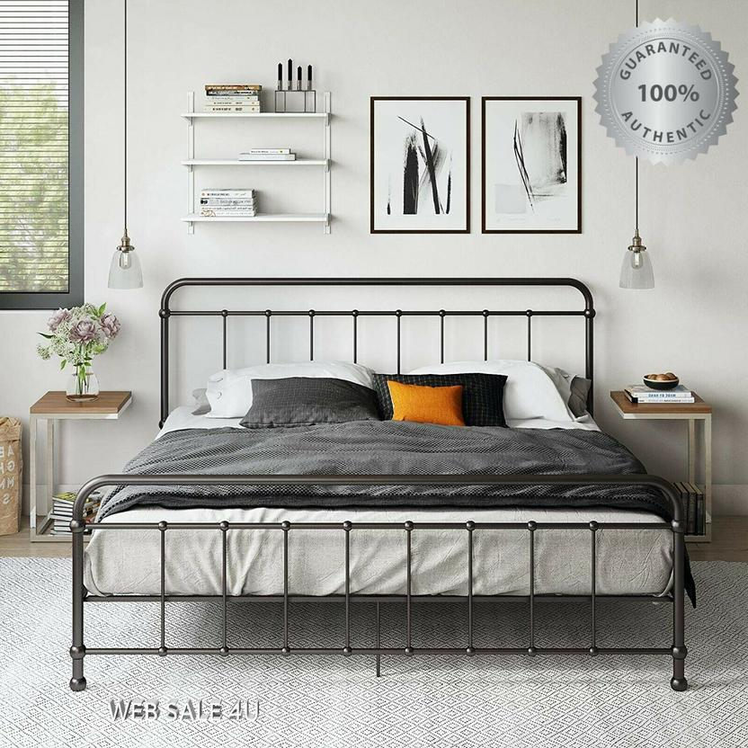 29+ Farmhouse metal bed frame most popular